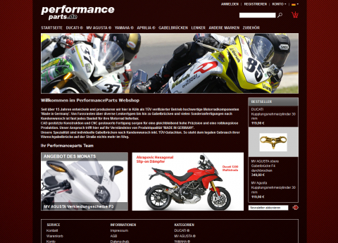 Performance Parts - Onlineshop